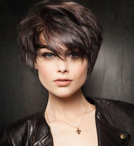 coupe de cheveux degrade court