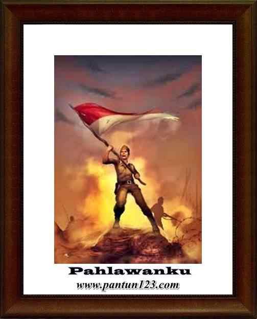 Gambar pantun kepahlawanan dan pejuang kemerdekaan