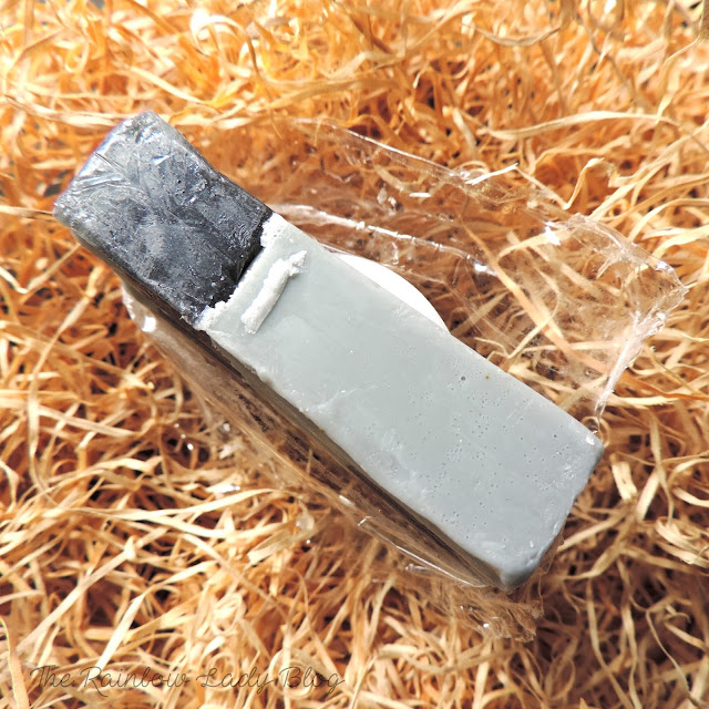The Cleansing Ritual from The Herb Boutique    A Charcoal and Green Tea Soap Bar