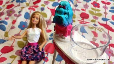 Barbie Colour me cute dog