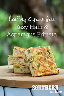 Easy Ham and Asparagus Frittata Recipe