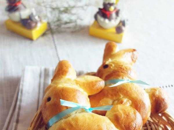 Petite brioche de Pâques