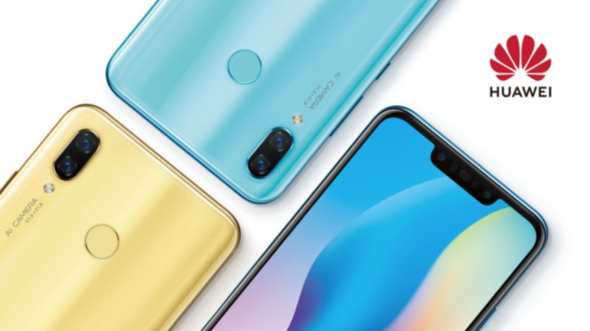 15263fb86e033 Huawei ha compartido un adelanto para Nova 3 en las redes sociales chinas  (a través de GSMArena ). La imagen promocional muestra el Nova 3 en colores  ...