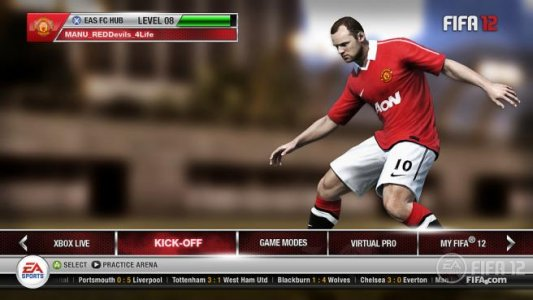 تحميل لعبة FIFA 12 Lite للأندرويد اخر اصدار اوفلاين