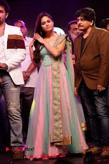 Actress Naina Ganguly Stills in Long Dress at Vangaveeti Audio Launch  0128.JPG
