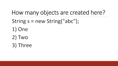 Tricky Core Java questions with answers