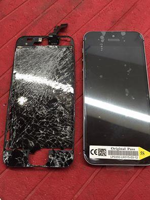 iPhone kırık ekran değişimi