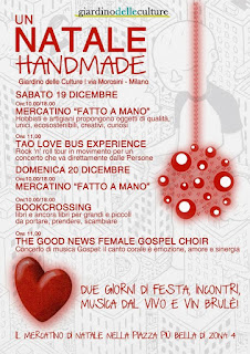 Natale Handmade - Giardino delle culture, Milano