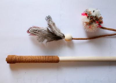 juguetes para gatos artesanales