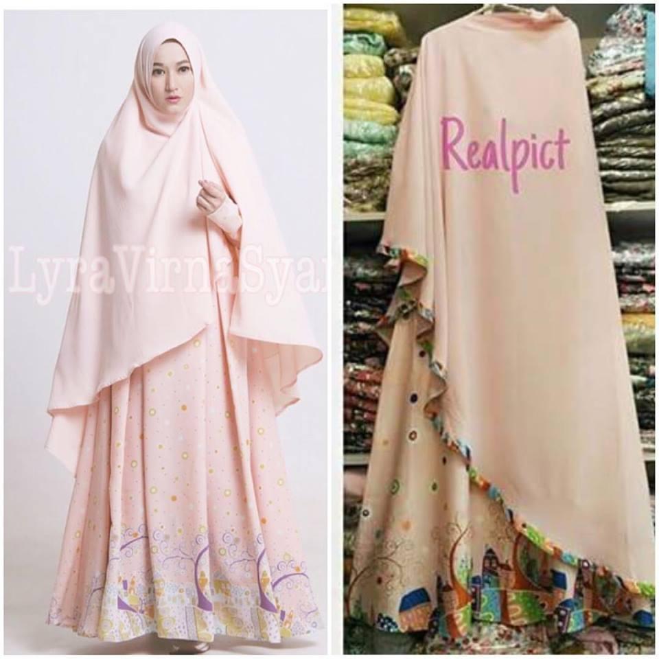 Pusat Grosir Hijab Gamis Terbaru Ready Stock Lyra Virna