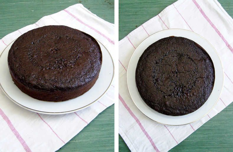 How to make chocolate cake without eggs