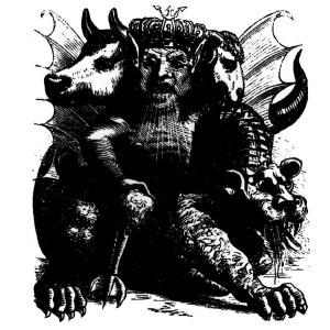 Goetia - Asmoday (Illustration)