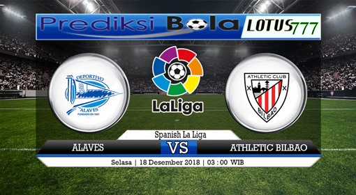 PREDIKSI DEPORTIVO ALAVES VS ATHLETIC BILBAO 18 DESEMBER 2018
