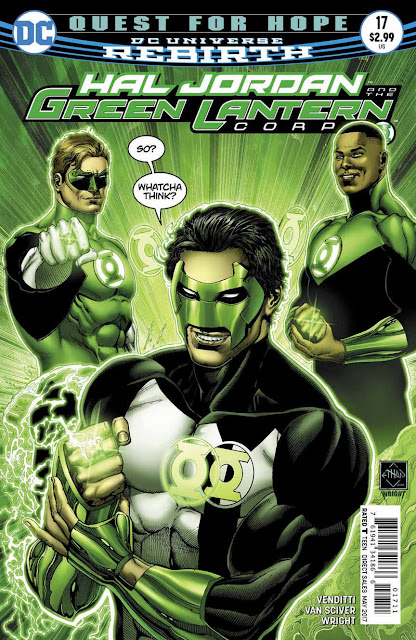 HAL JORDAN AND THE GREEN LANTERN CORPS 17