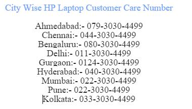 hp laptop customer sewrvice no