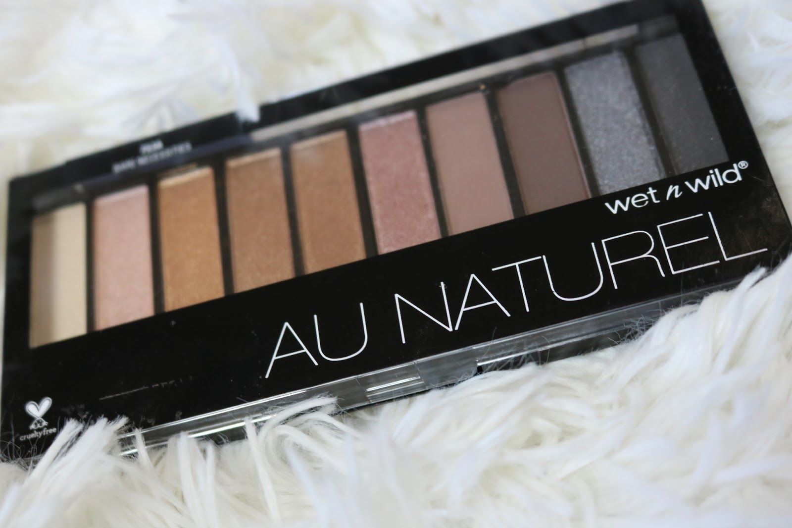 Lisa Stevens Beauty Blog Wet N Wild Au Naturel Palette