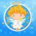 Little Angel Holding a Star Screen Saver