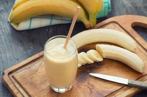 banana, banana shake