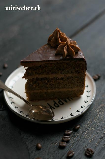Nutellatorte, Espressotorte, Haselnusstorte, Kuchenrezept, Schweizer Foodblog