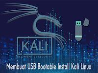 Membuat USB Bootable Install Kali Linux
