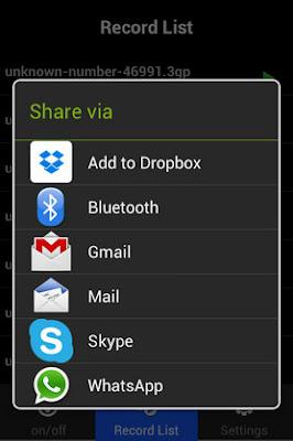 أفضل تطبيق لتسجيل مكالمات واتساب وفايبر وسكايب وتانجو للاندرويد