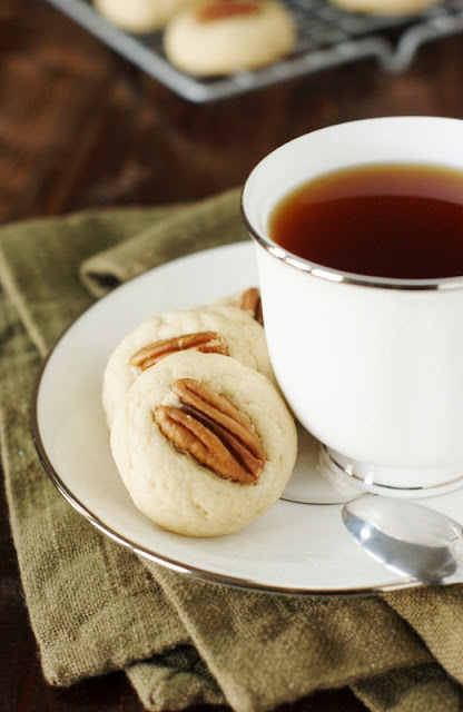 Pound Cake Cookies with Tea Image