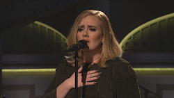 Adele performing When We Were Young