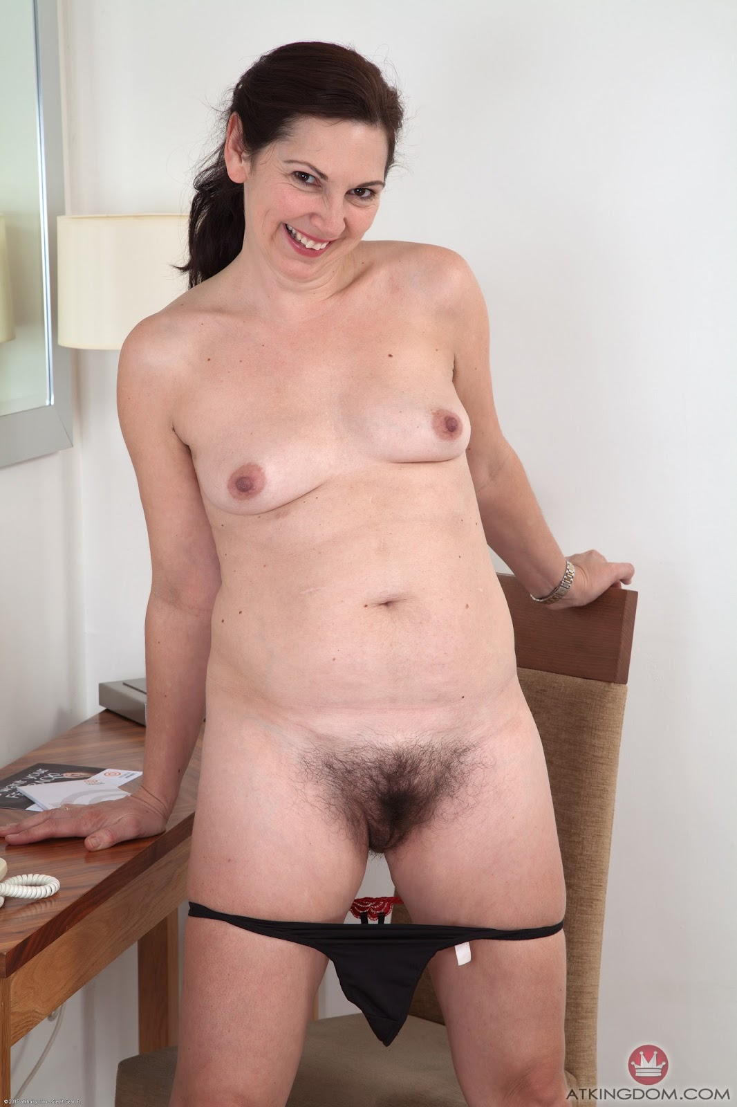 Nude hairy old broads