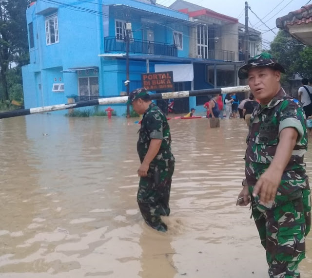 Sejumlah Wilayah Bekasi Diterjang Banjir