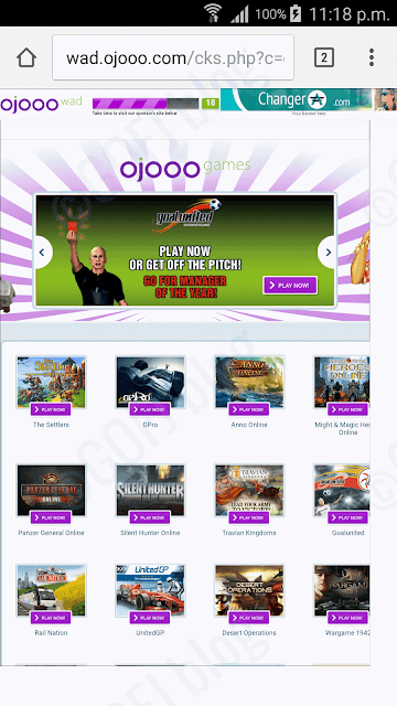 Mobile PTC - Ojooo wad watching ads