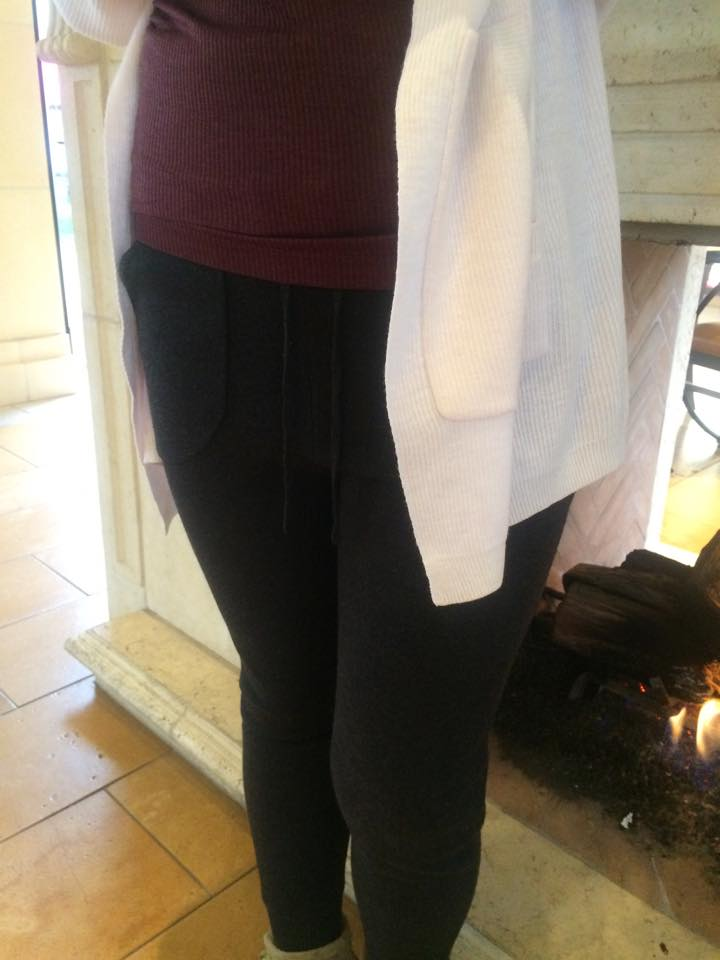 lululemon cabin yogi wrap sweater-pant