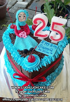 Blackforest Cake Unik Dengan Figure Fondant