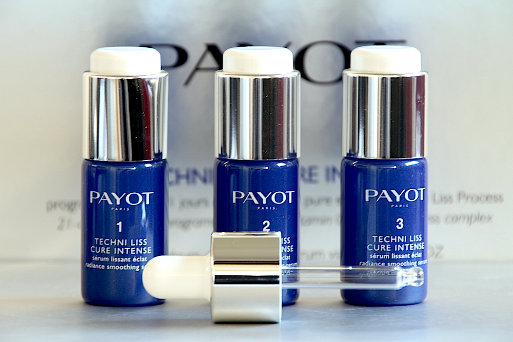 payot techni liss cure intense avis test