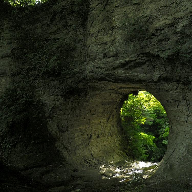 スゴログ 開墾場の滝 奥米の滝