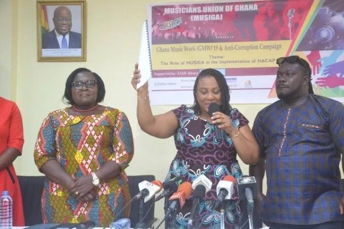 MUSIGA Launches Anti-Corruption Campaign