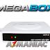 MegaBox MG7 HD Atualização v748 - 20/07/2017