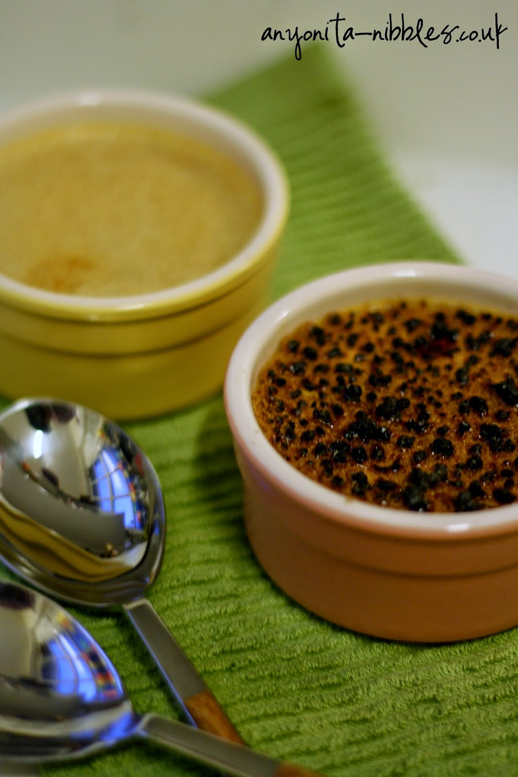 Two pumpkin-spice brulee desserts from anyonita-nibbles.co.uk