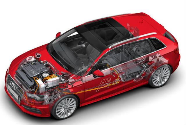 Audi/Divulgação A3 e-tron será o primeiro híbrido plug-in da Audi
