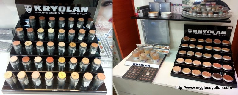 My Kryolan Makeup Tour and Mini Haul
