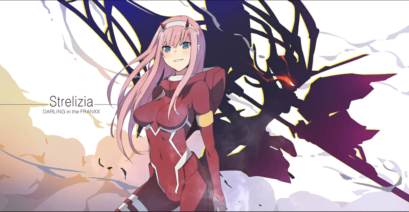 Zero Two (Darling in the Franxx) [Wallpaper Engine Anime]