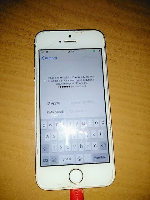 Cara ByPass iCloud Iphone 5S