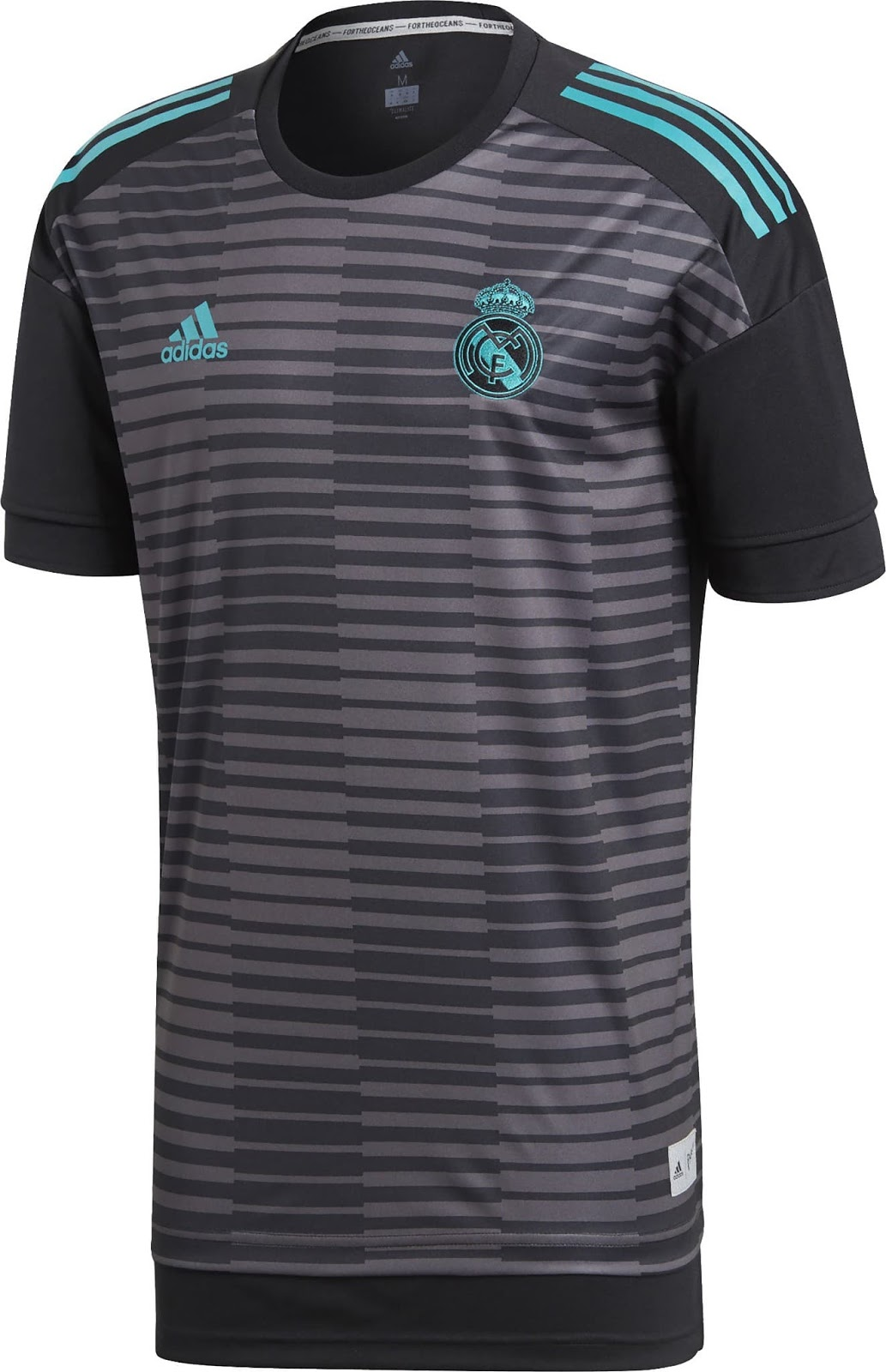 70b7128fe adidas 2018-2019 Real Madrid Pre-Match Training Football Soccer T-Shirt  Jersey Soccer Grey