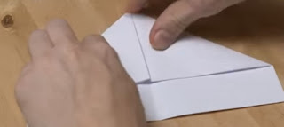 Bateau En Papier Crepon Fleur