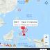 Potente sismo sacude las costas de filipinas..