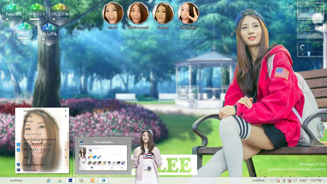 Raon Lee Theme Win 8/8.1 by Enji Riz Lazuardi