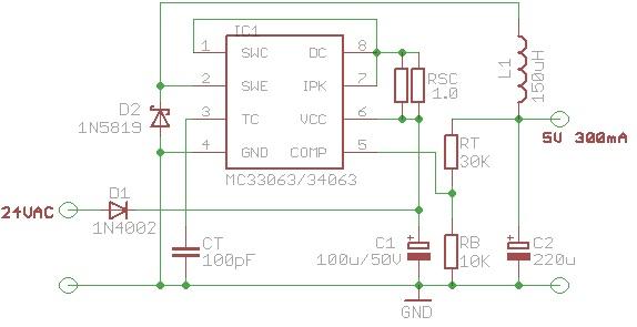 From 24v To 5v Dc Voltage Regulator