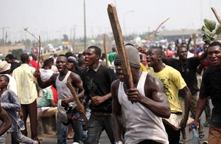 Drama as PDP National Secretary Escapes Lynching, Runs Away Barefooted