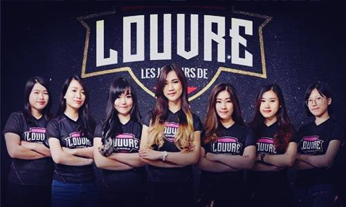 Biodata Tim Louvre Angels Juara Turnamen Mobile Legends MeSC War of Goddess