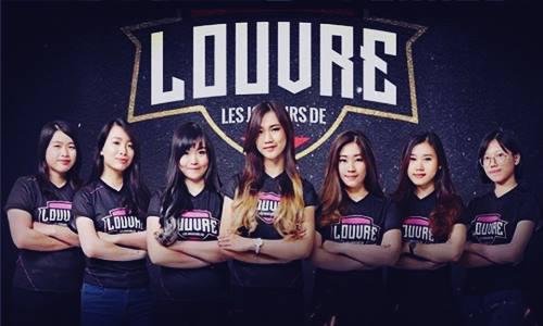 Biodata Tim Louvre Angels Juara Turnamen Mobile Legends MeSC War of Goddess