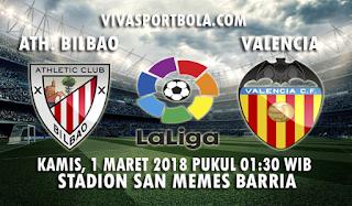Prediksi Athletic Bilbao vs Valencia 1 Maret 2018